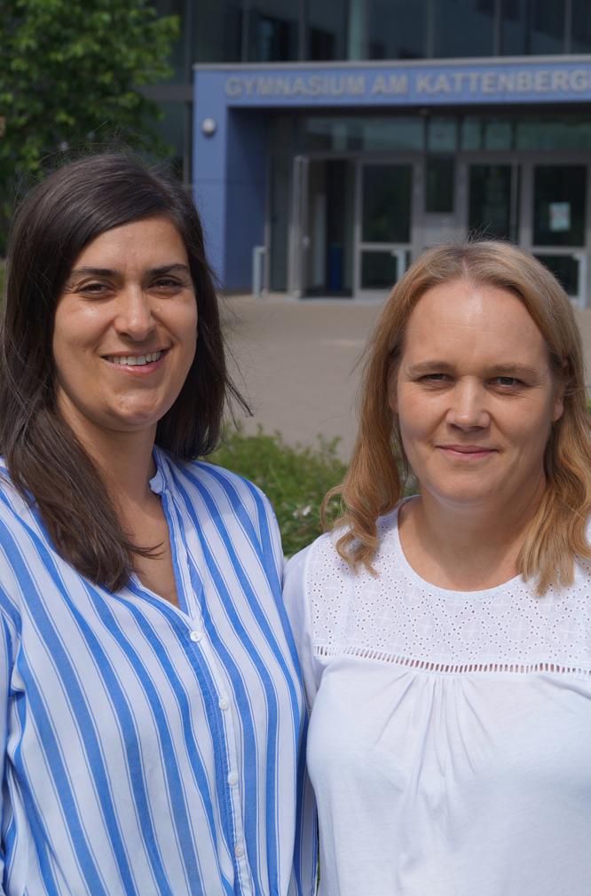 Frau Kunde und Frau Nowakowski